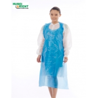 Quality Odorless Non Irritating Disposable PE Apron Without Sleeves for sale