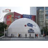 Quality Tear Resistant Large Geodesic Dome Tent For Advertising / Exhibition for sale