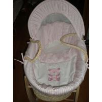 Quality Maize baby basket with lining for sale