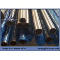 Buy cheap On Sale !!! 316L Stainless Steel OD25mm Wedge Wire Screen Filter Element With 0 from wholesalers