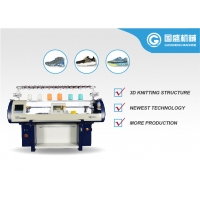 Quality Flat Bed 14G Shoe Upper Knitting Machine for sale