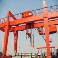 Quality 50t 80t Box Portal Gantry Crane Double Beam Stepless Speed Pendent Control for sale