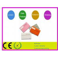 Quality Slim Credit Card USB Flash Drive AT-045E for sale