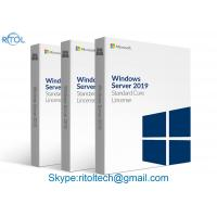 Buy cheap 16 Core Microsoft Windows Server 2019 Standard Licensing Permanently Warranty from wholesalers