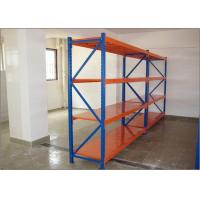 Quality Steel Q235 Long Span Shelving System Wide Span Shelving For Midium Duty Load for sale