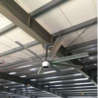 China 550W 14 Foot Ceiling Fan , Brushless DC Motor Ceiling Fan For Restaurant on sale