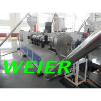 Quality WPC / PVC Plastic Recycling Machine , 90kw Plastic Pelletizing Machinery for sale