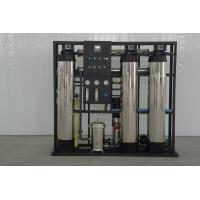 Quality Small reverse osmosis system with fluid of 0.5 ton/hour for sale