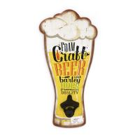 China Home Decorative Wall Hanging Beer Bottle Opener 40 X 20 X 0.9 Cm ISO Approved on sale