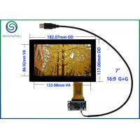"""Quality USB 7"""" Capacitive Touch Screen ITO Glass Cover Lens Multi-Touch Panel For Intelligent Appliances for sale"""