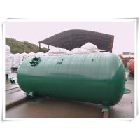 Quality Industrial Compressed Oxygen Air Storage Tanks , Liquid Oxygen Portable Tanks With Bracket for sale
