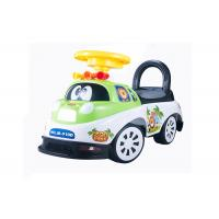Quality Kids Toddler Plastic Ride On Car Push Baby Walker With Backrest Non - Toxic for sale