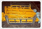 Quality shantui bulldozer parts SD22 tilt cylinder 23y-62B-01000 for sale