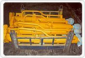 Quality shantui bulldozer parts SD23 tilt cylinder 23y-62B-01000 for sale
