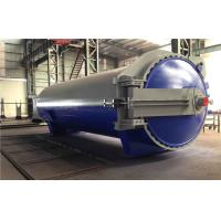 China Rubber Vulcanizing Autoclave with safety valve  and chain lock system on sale