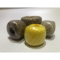 Quality Twist Caco3 Polypropylene Twine For Cable Filler 7-40kg / Roll With Spool for sale