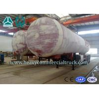 Quality 45M3 3 Axles Heavy Duty Lpg Propane Gas Tank Trailer With Air Suspension for sale