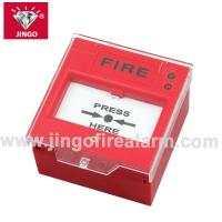 Quality Conventional fire alarm 24V two wire bus manual call point,resetable for sale