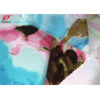 Quality Printed Nylon Spandex Fabric Stretch Bathing Suit Warp Knitted Fabric for sale