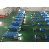 China Sky Blue Copper Wire Twisting Machine , Touch Screen Operation on sale