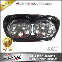 Quality 45W Cannon light high power vision offroad driving headlight for 4x4 offroad ATV UTV SUV semi truck trailer 4x4 vehicles for sale