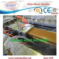 Quality Co - Extrusion Type Wood Plastic Composite Production Line For WPC Decking for sale