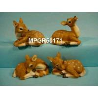 Quality Polyresin Garden Laying Fawn for sale