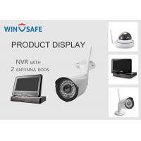 Quality Network Video Recorder NVR Wireless Security Camera System 20M IR Distance for sale