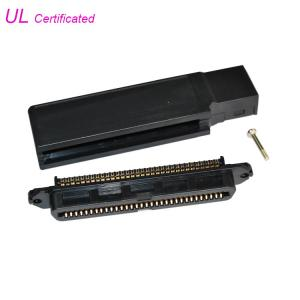 Quality 90 Degree TYCO 64 Pin Centronic Champ IDC Female Connector For RJ21 Cable for sale