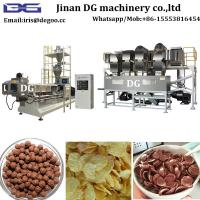 Quality Corn flakes and breakfast cereal production line, 3d 2d