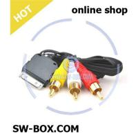 China Audio Video AV Cable for iPhone 3G iPod Nano - Black on sale
