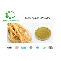 Quality Panax Ginseng Plant Extract Powder Ginsenosides NaturalIngredients Yellow Brown Powder for sale