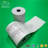 Quality Waterproof Thermal Printer Paper Roll Adhesive Label Material 100% Wood Pulp for sale