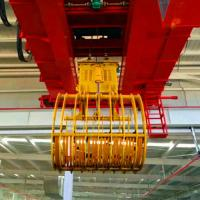 Quality Bucket Grab Garbage Workshop Bridge Crane 10 Tons Double Beam Girder for sale