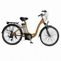 Quality Electric Bike with 37V/250W Motor, 37V/10Ah Lithium Battery, 25kph Maximum Speed for sale