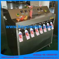 Quality Fruit Flavoured Carbonated Soft Drinks/Soda Pop/mineral water pouch filling packing machine for sale