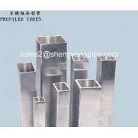 China Stainless Steel Seamless Square Tubes TP304 TP321 TP316L on sale