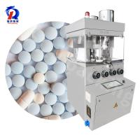 China Rotary Pill Compression Tablet Machine Press Machinery , Tablet In Tablet Compression Machine on sale
