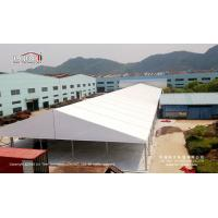 Quality 25x100m Big Industrial Tent Structures With Double - Wing Glass Door for sale