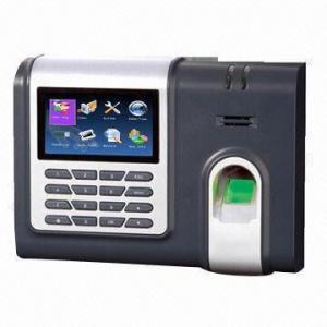 Quality Multimedia Fingerprint Time Attendance/Recorder Terminal for sale