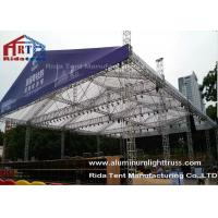 Buy cheap Durable Stage DJ Light Truss Silver Color 5200mm X 760mm Size Hanging Stage Lighting from wholesalers