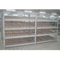 Quality Rolling Section Carton Flow Rack 4 Beam Level Light Duty Movable Storage Management for sale
