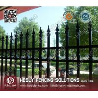 China Decorative Metal Railing Fence on sale