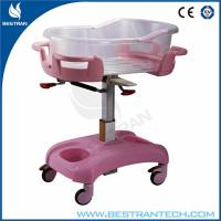 China Luxurious Medical Hospital Beds / Baby Crib With Silent Wheels For Baby Room on sale