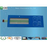 Glossy Membrane Touch Switch / Luxing Backadhesive Membrane Switch Keypad