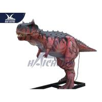 Buy cheap Durable Silicon Rubber Alive Handmade Dinosaur Statue For Water Park NOA from wholesalers