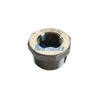 Quality Stainless Steel CF8 CF8M Casting Pipe Fittings Hexagonal Bushing NPT 150 For Connection for sale