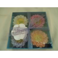 Quality Nice flower jasmine perfume scented candles set of 4 for travel for sale