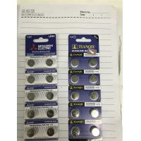 Quality Tianqiu LR44 Button Cell Battery Mitsubishi LR44 button cell battery AG13 button cell battery for sale