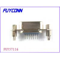 Quality Certified UL Parallel Port Connector, 36 Pin Centronic PCB Straight Angle Female Connectors for sale